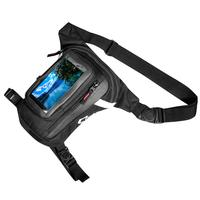 Motorcycle Leg Bag Waist Pack Waterproof Adjustable Oxford Cloth Motorbike Bag Touch Screen Mobile Phone Pouch for Riding Travel