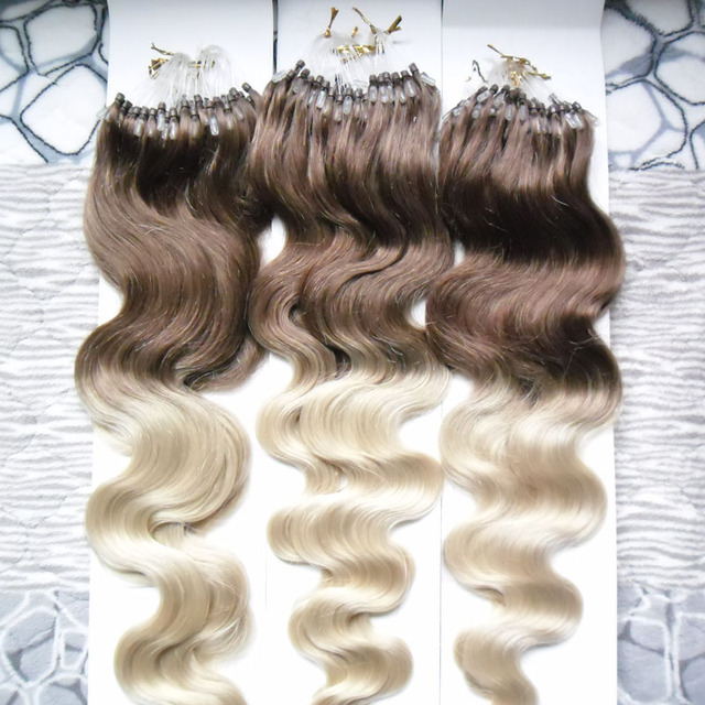 Full Head 3 Pack Brazilian Micro Beads Hair Body Wave 300s 4613