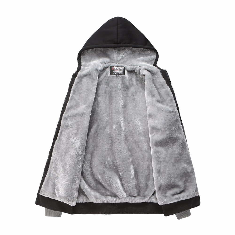 Зимние вязаные толстовки больших размеров 2xl 7xl 8xl верхняя одежда на пуговицах в европейском стиле большие мужские теплые черные толстовки с... - 6