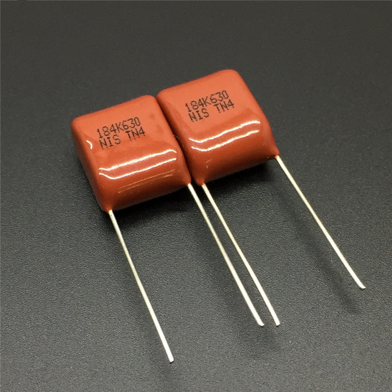 0.56uF 560nF 250V Red Polyester Capacitors 564-10pcs