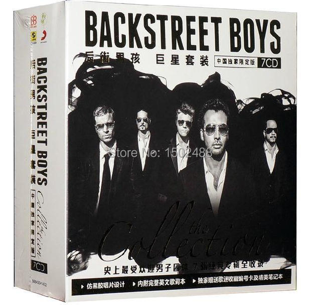 Backstreet Boys Music Collection Complete Als 7cd Booklets Full Box Set Sealed Ems Free Shipping