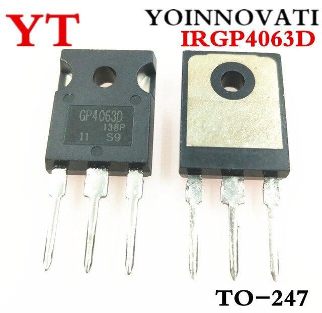 10 Chiếc/Lpt IRGP4063D IRGP4063DPBF GP4063D IRGP4063 IGBT 600V 96A 330W Đến 247 IC Chất Lượng Tốt Nhất.