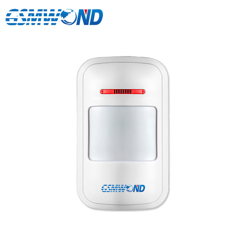Wireless PIR Motion Sensor Detector For 433MHz Home Burglar GSM Alarm System,