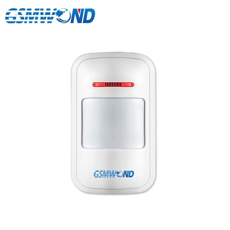 Wireless PIR Motion Sensor Detector For 433MHz Home Burglar GSM Alarm System,