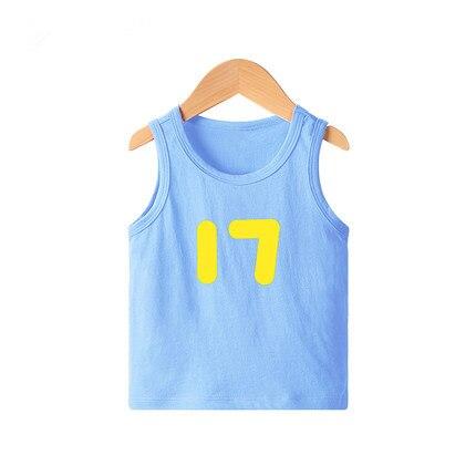 VIDMID New Summer Children Girls boys T-shirts Kids Cotton Short Sleeve Tees Casual Cartoon Tops for 2-8 year Girls boys 4101 01 3