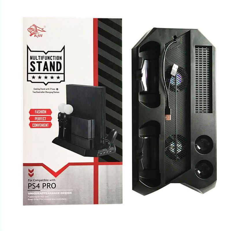 Vertical Stand font b Game b font font b Console b font Stand with Cooling Fan