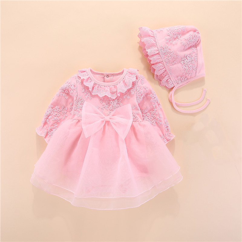 Bow Newborn Baby Girl Clothes My First