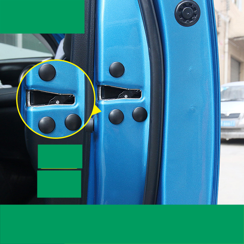 lsrtw2017 pvc car door screws cover protection for toyota camry 2012 2013 2014 2015 2016 2017 xv50
