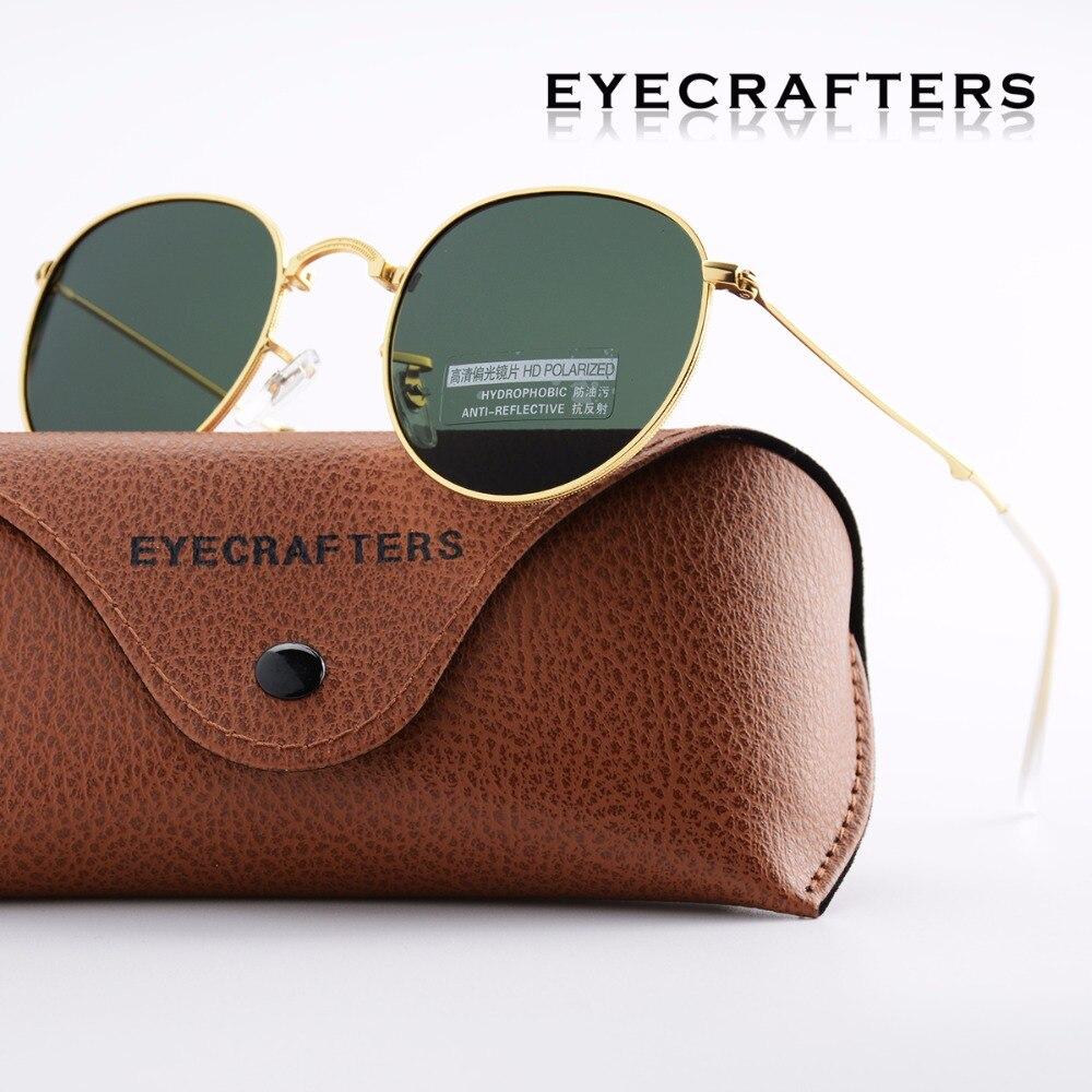 d4e224e45 G15 Portátil Dobrável Dobrável Óculos De Sol Polarizados óculos de Sol Das  Mulheres Dos Homens de Moda Retro Vintage Espelhado Driving Eyewear 3532