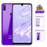 Oukitel smartphone c16 pro mt6761p  telefone celular  tela de 5.71 ''  android 9.0  19:9  3 gb  32 gb  impressão digital  face id  tela 5 celular v/1a 4g