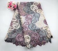 African Cord Lace For Wedding Dress High Quality Guipure Lace Fabric With Nice Flower,New Nigerian Lace Fabric HSMAY015