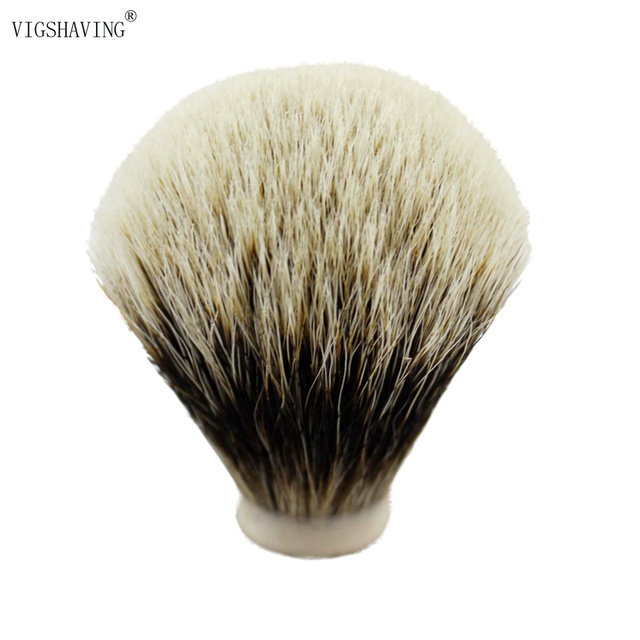 VIGSHAVING 22/65MM Finest Two Band Badger Hair Shaving Brush Knots