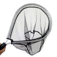 5pcs Landing Net Catch And Release Nets Scoop Brail Nylon Mesh Netting For Fly Trout Kayak