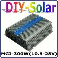 300 Вт grid tie инвертор, 18 В панель/36 клеток, 10.5 28vdc Чистая синусоида Инвертор Micro, 110 В или 230 В MPPT Функция Солнечный инвертор