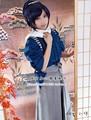 Anime Touken Ranbu/ The Sword Dance-- Yamatonokami Yasusada Cosplay Kimono Clean Cosplay Costume