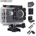 Original soocoo c30 4 k wi-fi giroscópio mergulho 1080 p full hd à prova d' água 30 m câmera de ação de esportes com selfie vara carregador de carro opções