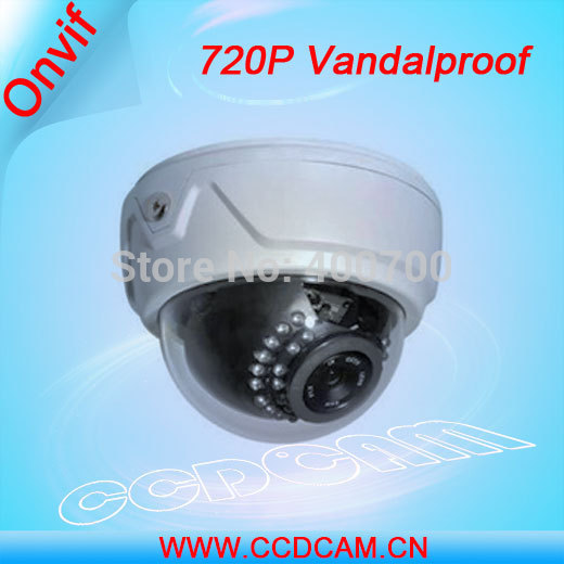 CCDCAM CCTV Plastic Dome Vandaproof IR IP Camera HD 720P Security Camera EC-IP3024CCDCAM CCTV Plastic Dome Vandaproof IR IP Camera HD 720P Security Camera EC-IP3024