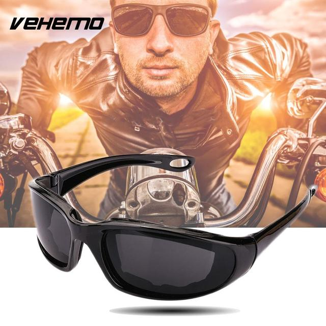 b1803a16fb Vehemo Windproof Sunglasses Extreme Sports Motorcycle Riding Cycling  Fishing Protective Glasses Men Women Eyewear Goggles-in Motorcycle Glasses  from ...