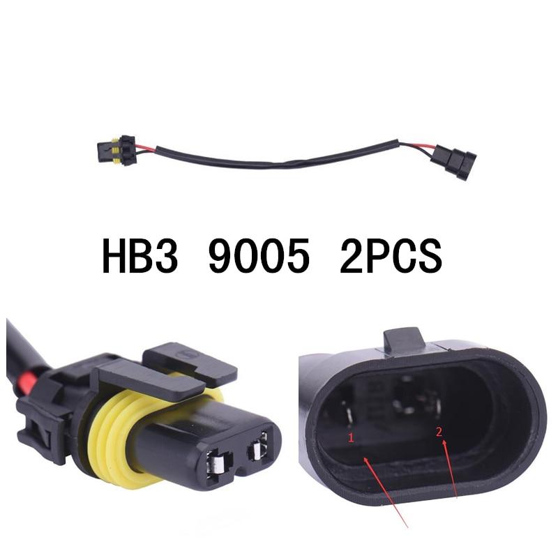 стайлинг на автомобил 900px 9005XS 9145 HB3 кабелна система кабел на щепсела на щепсела, баласт гнездо HID адаптер преобразуване