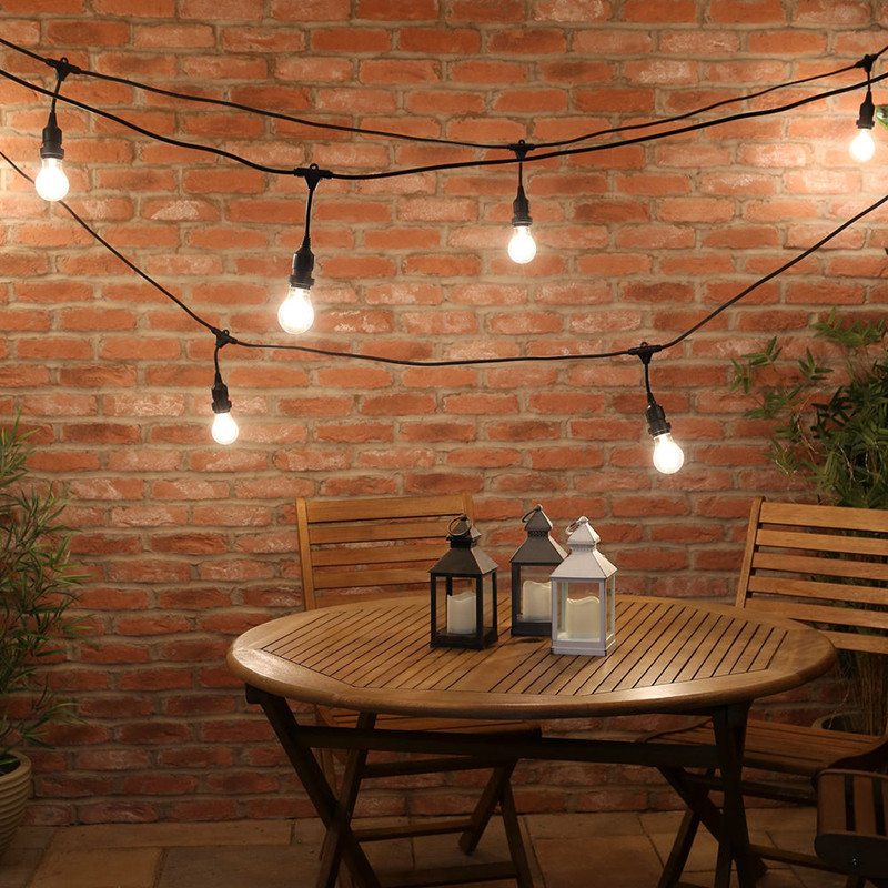 Heavy duty white patio light strings led outdoor 2017 most popular China original made vintage brightness дырокол deli heavy duty e0130
