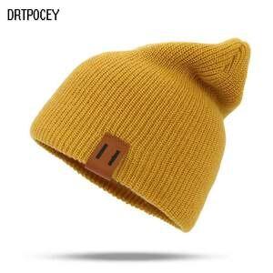 218732e7668 DRTPOCEY Knitted Women s Cap Hat Female Skullies Beanies