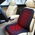 Assento Almofada Do Assento de Carro Mais Quente DC12V Aquecida Capa de Almofada Do Assento De Fibra De Carbono de Aquecimento manter O Aquecimento para o Inverno Cor Preta Nova