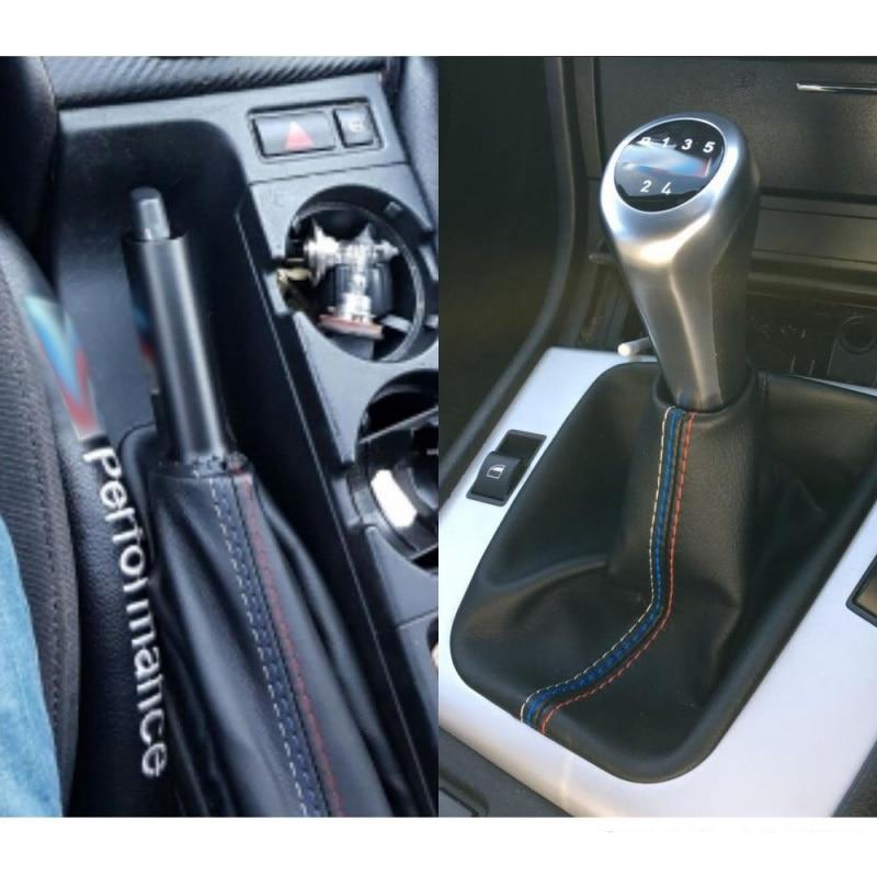 2 шт./компл. автомобиля Шестерни муфта переключения кожа ручной тормоз загрузки Чехол для BMW E46 3 серии E36 M3(1991-1998