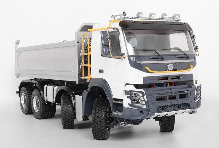1/14 Échelle RC Hydraulique Camion À Benne Basculante 8x8 1.5 Version