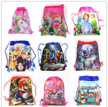 0cf00c7a287 1 pc de dibujos animados mochila para niño niña niños cumpleaños favores  esfera.