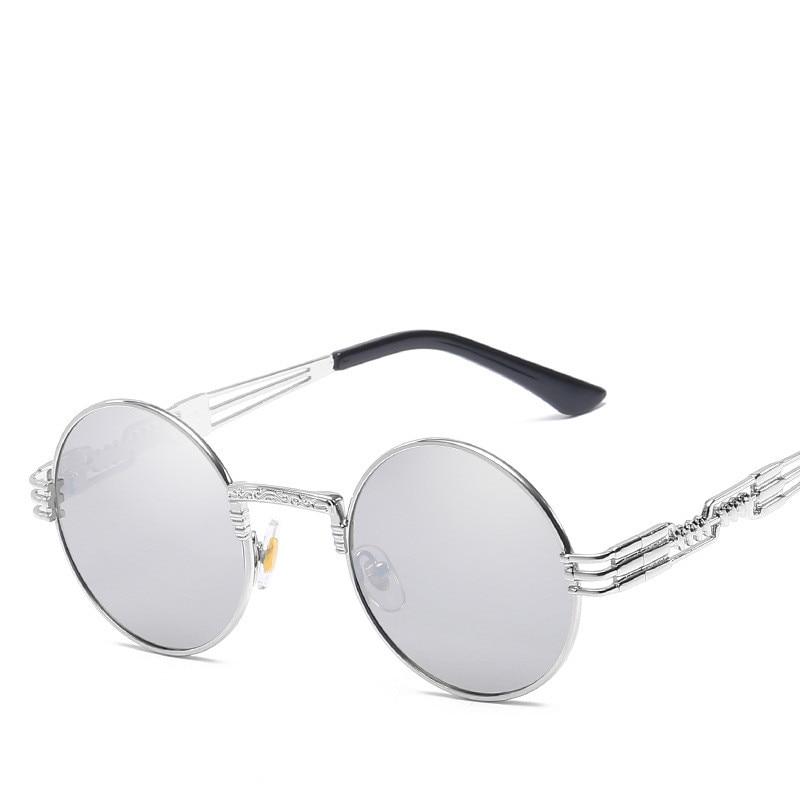 LONSY Übergroße runde Retro-Sonnenbrille Frauen Markendesignerin - Bekleidungszubehör - Foto 4