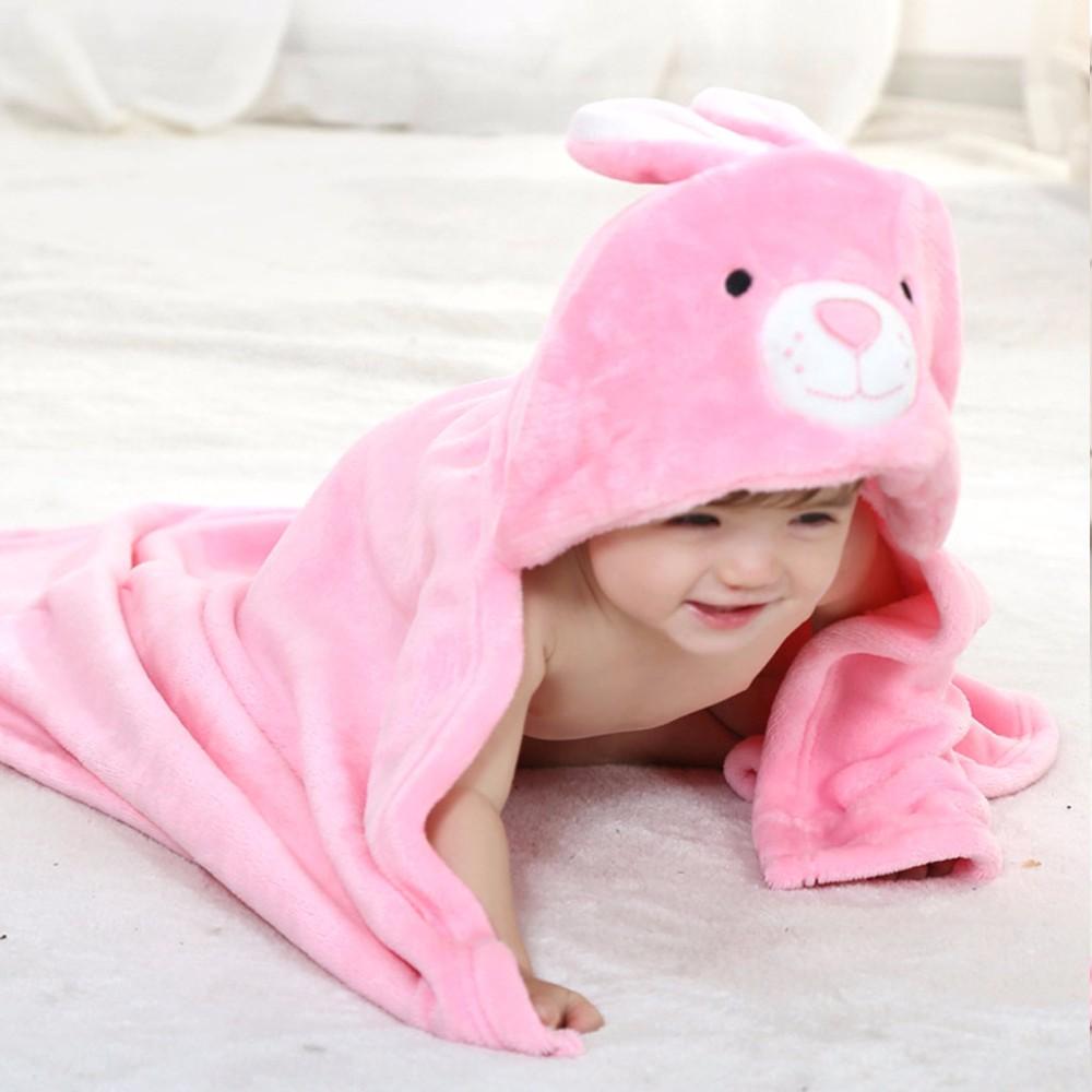 8 Types Animal Baby Hooded Bathrobe