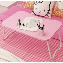 250612/Lazy simple learning desk/Laptop computer table bed with dormitory artifact folding small table