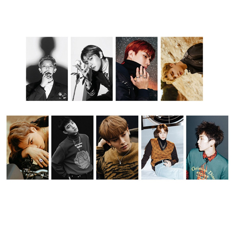 Office & School Supplies Youpop Kpop Exo K M Exact Lotto Plant 3 Exact Album Self Made Paper Cards K-pop Signature Lomo Photo Card Photocard High Quality Goods