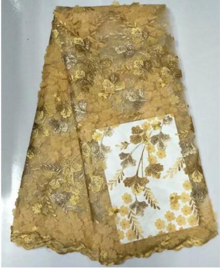 El cordón neto africano de la venta caliente del bordado de 2017Net - Artes, artesanía y costura