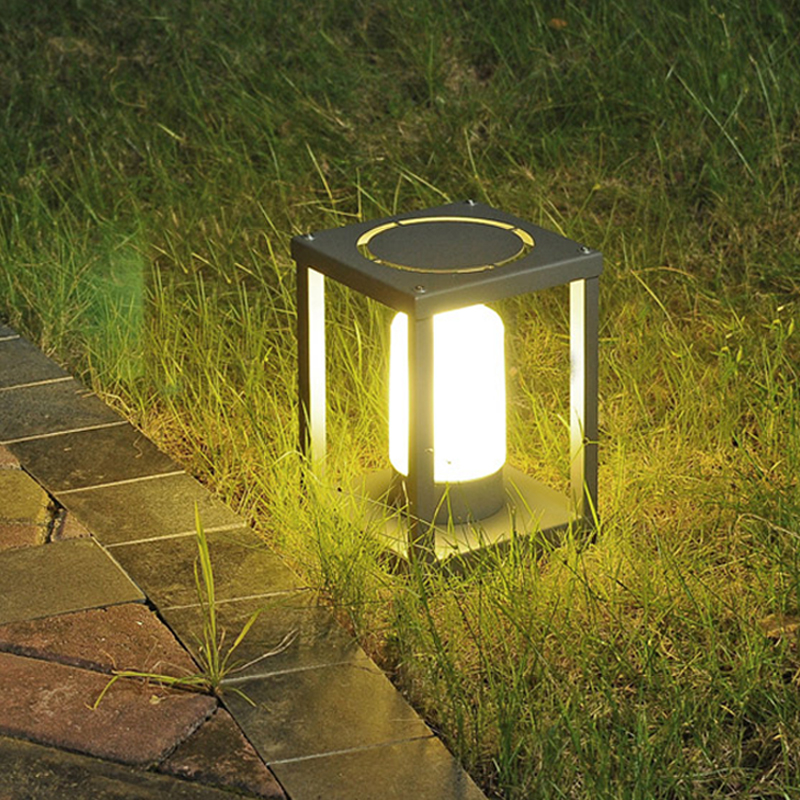 Waterproof Outdoor lighting, aluminum garden lights, landscape park lights, LED lawn lamps aluminum square lawn lamp led modern simple garden lights outdoor landscape park lights