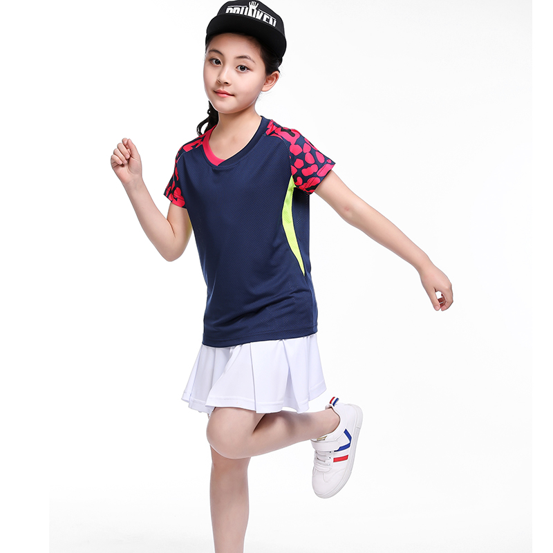 children badminton clothes girl tracksuit  sports