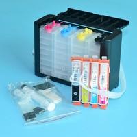 4 color Ciss system for HP 670 for HP Deskjet Ink Advantage 3525 5525 4615 4625 printer with ARC chip