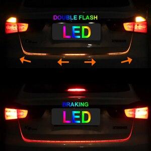 OKEEN, автомобильный Стайлинг, светодиодный светильник для багажника, RGB ходовая часть, плавающий светодиодный, динамический сигнал поворота, ...