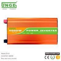 purely 4kw 4000w pure sine wave inverter kit peak power 8000w 24v 48v 96v 110v 220v 230v car adaptor 5v usb