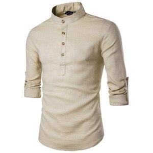 ZOGAA 2019 gorąca nowa jesienna koszula męska Slim duży rozmiar męska Business Casual długi koszula z długim rękawem odzież męska moda męska koszula