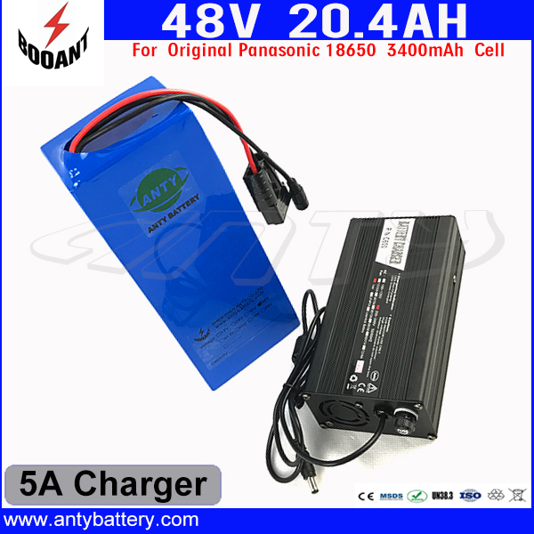 US EU Free Customs Duty 48V Lithium Battery Pack For Bafang eBike Motor 1000W With 5A Charger 48V 20AH Electric Bicycle Battery eu us free customs duty 48v 550w e bike battery 48v 15ah lithium ion battery pack with 2a charger electric bicycle battery 48v