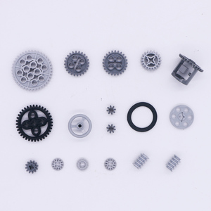 Image 3 - Blocks Technic Parts Bulk Gear Axle Conector Wheels Pulley Chain Link Car Toys Mindstorms compatible Accessories Building Bricks