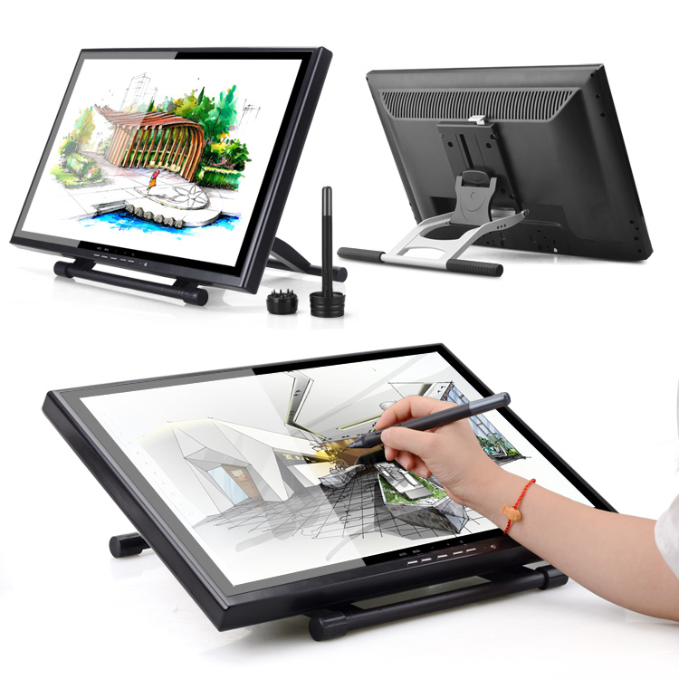 "Original 2 Pen UGEE UG-1910B 19"" Prefessional 19 Inches LCD Monitor Art Graphic Drawing Tablet"