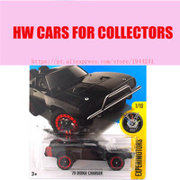 2016 Hot Wheels 70 Dodge Charger Car Models Metal Diecast Cars Collection Kids Toys Vehicle For