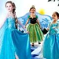 Niños vestidos para niñas vestidos de niña de la vendimia vestidos de niña de Partido de Los Niños Ceremonias Ropa Princesa Vestido de Novia