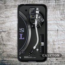 DJ Technics Turntables Retro Case For Galaxy S7 S6 Edge Plus S5 S4 S3 mini Active