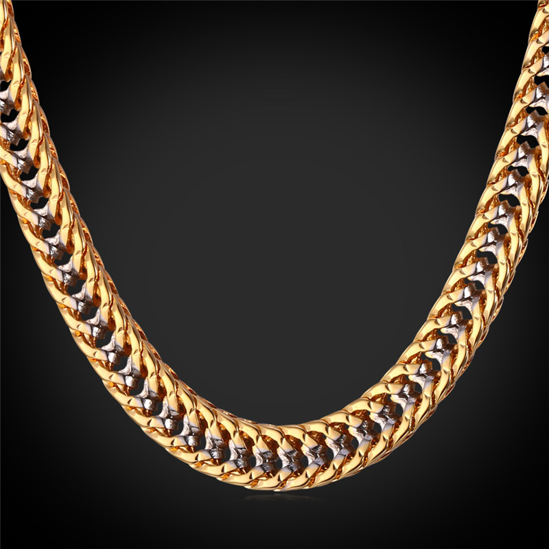 Starlord thick hiphop gold chains for men fashion 22 gold color starlord thick hiphop gold chains for men fashion 22 gold color two tone chains chunky necklace hip hop jewelry n1553 in chain necklaces from jewelry aloadofball Image collections