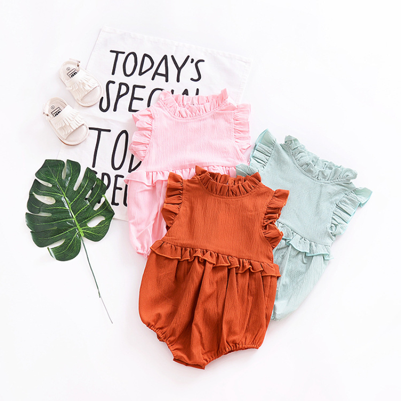 The King Playing Card Poker Baby Girls Summer Dress Outfits Ruffle Short T-Shirt Romper Dress,One-Piece Jumpsuit