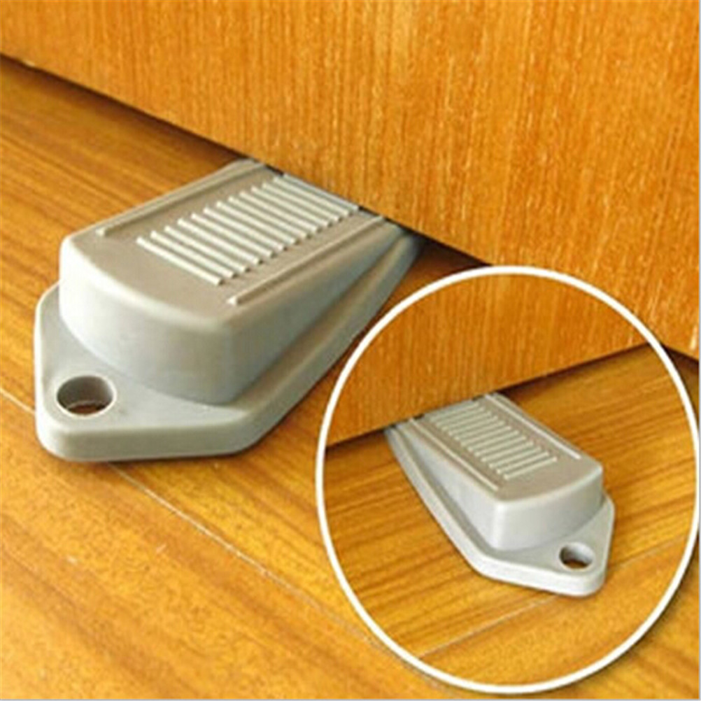 Rubber Door Stop Stopper Jammer Guard for Baby Children Safe