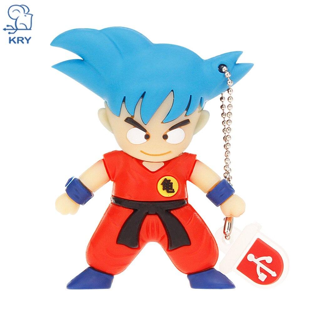 KRY usb3.0 cartoon Goku Dragon Ball characters series flash drive 4GB 8GB 16GB 32GB 64GB Pendrive2.0 memory stick holiday gift